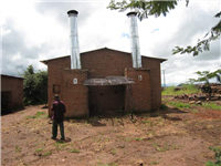 Double rocket barn under test Malawi