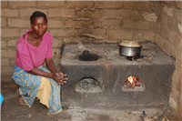 Improved stove cooking nsima